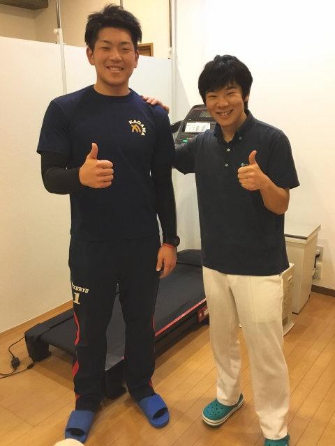 FC東京バレーボールチーム  岡崎将司選手